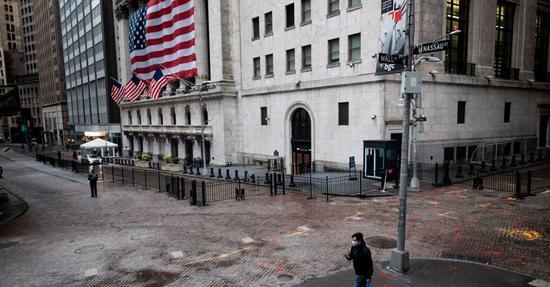 【美股收盘】美国单日确诊人数创新高 美股周四收高,纳指涨近1%